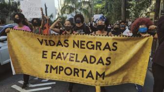 Ato Vidas Negras Importam, dia 31/05, Rio de Janeiro