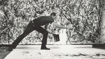 Jackson Pollock (Hans Namuth)
