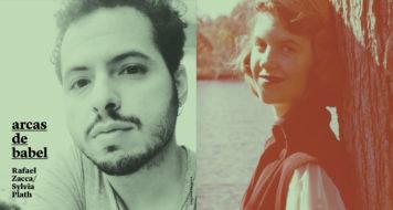 Rafael Zacca e Sylvia Plath