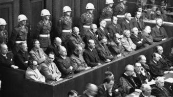 Tribunal de Nuremberg, 1945 (Foto: Reprodução)