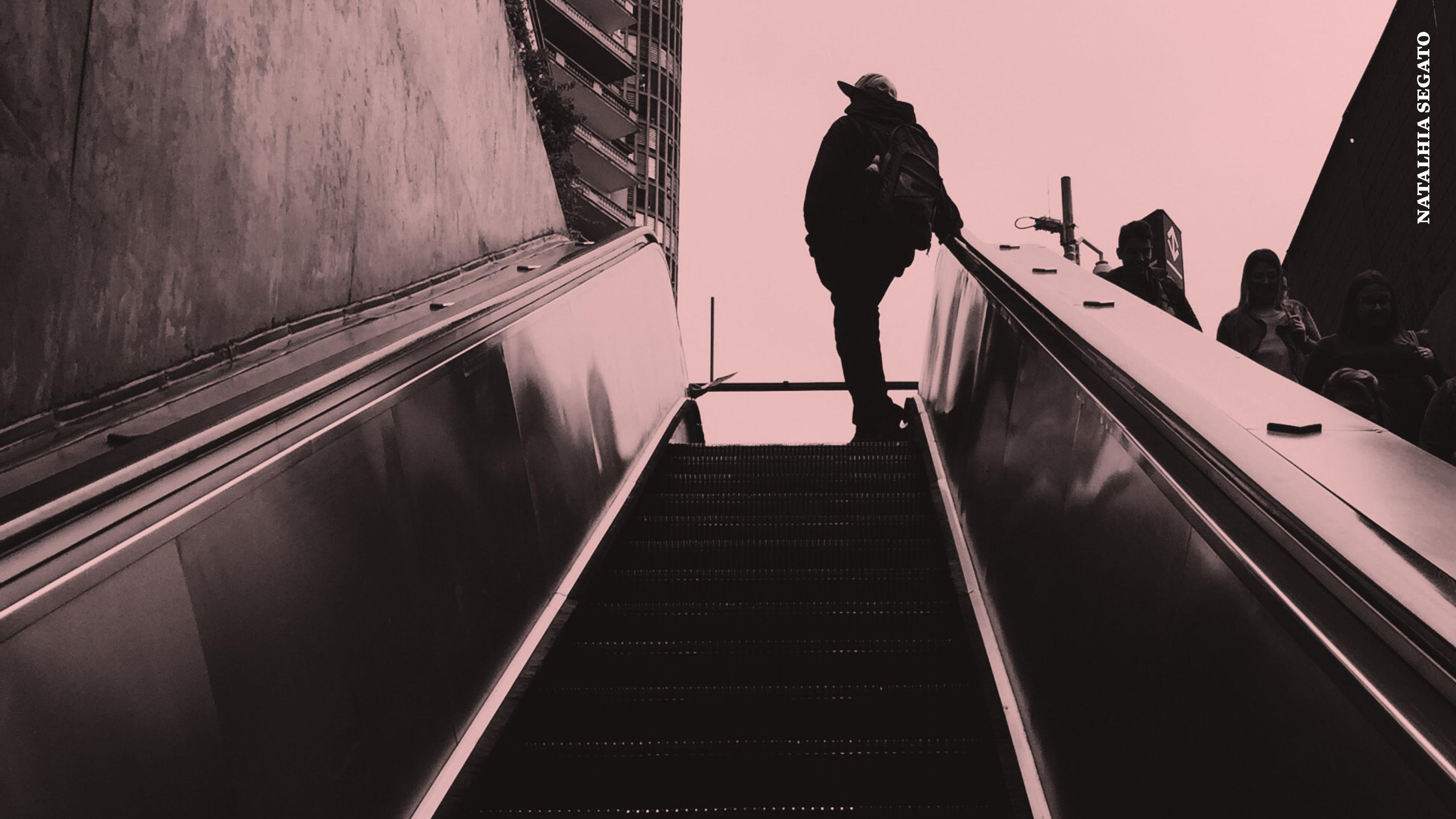 A solidão de um homem teria em si algo terrível demais