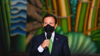 O Governador do Estado de São Paulo João Doria, durante coletiva de imprensa sobre coronavírus e balanço do Plano SP. Dia: 03/06/2020 Foto: Governo do Estado de São Paulo