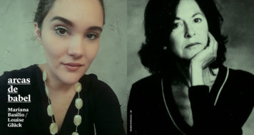 Mariana Basílio e Louise Gluck
