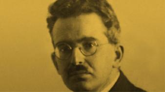 Walter Benjamin em 1928 (Foto: Domínio Público)
