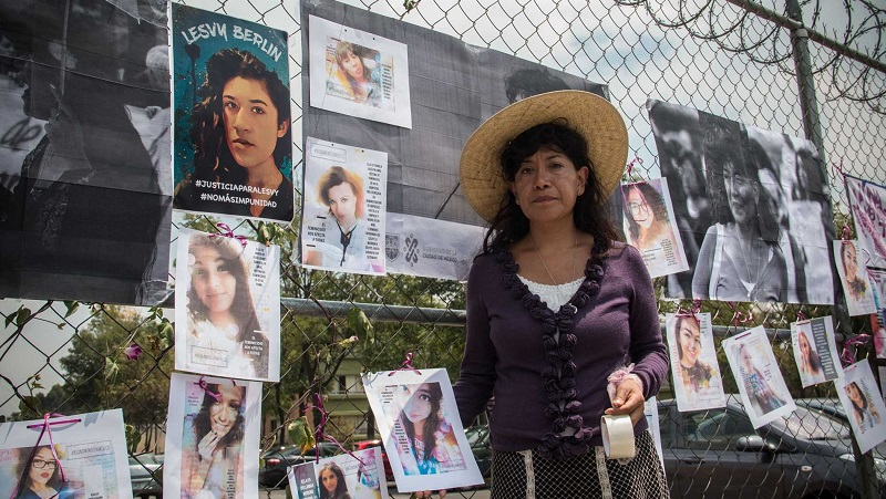 Buscar justiça para meninas e mulheres no México