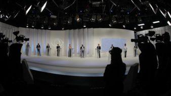 São Paulo SP 01 10 2020-Debate de candidatos a Prefeitura de São Paulo na TV Bandeirantes foto Filipe Araujo /Fotos Publicas