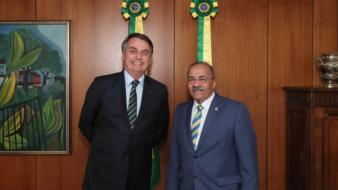 Jair Bolsonaro e Chico Rodrigues (Divulgação)