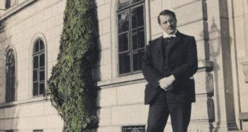 O psiquiatra suíço Carl Jung em 1910