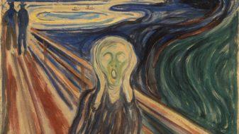 o grito edward munch reproducao