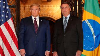 Bolsonaro e Trump (alan santos pr)