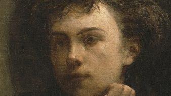 Arthur Rimbaud na pintura 'À volta da mesa', de Henri Fantin-Latour, 1872