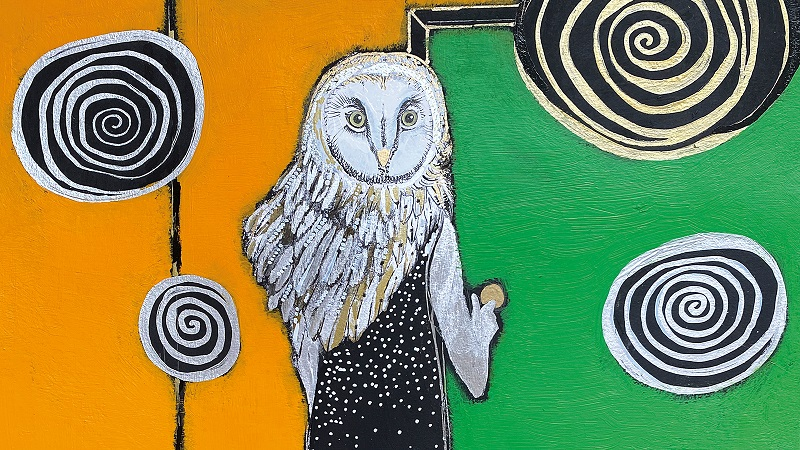 Mãe-coruja: o sonho de Liz