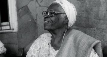 A líder religiosa Mãe Stella de Oxóssi AMANDA OLIVEIRA/GOVERNO DA BAHIA