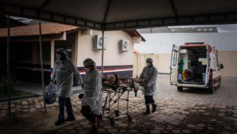 Santarém, Pará, transferência de pacientes na pandemia