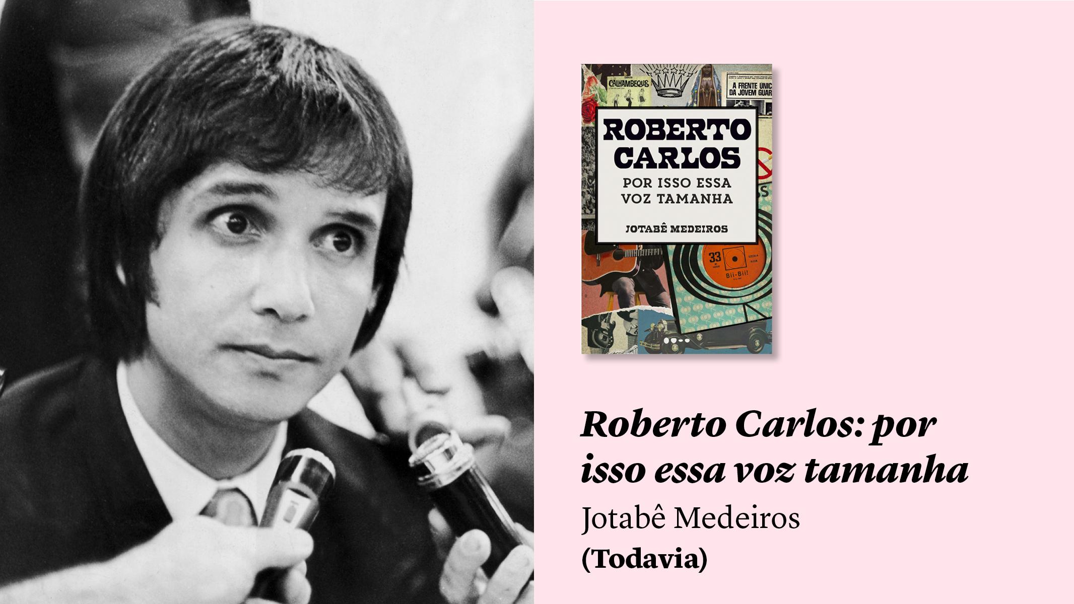 O rei está nu: a nova biografia de Roberto Carlos e outros livros