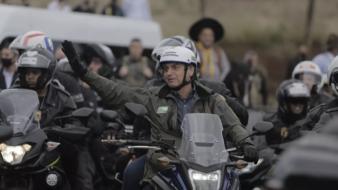 Motociata de Bolsonaro em Chapecó, SC, 26 de junho