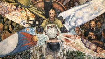 O homem controlador do Universo, Diego Rivera, 1933