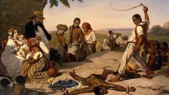 O castigo das quatro estacas nas colônias, Marcel Verdier, 1843